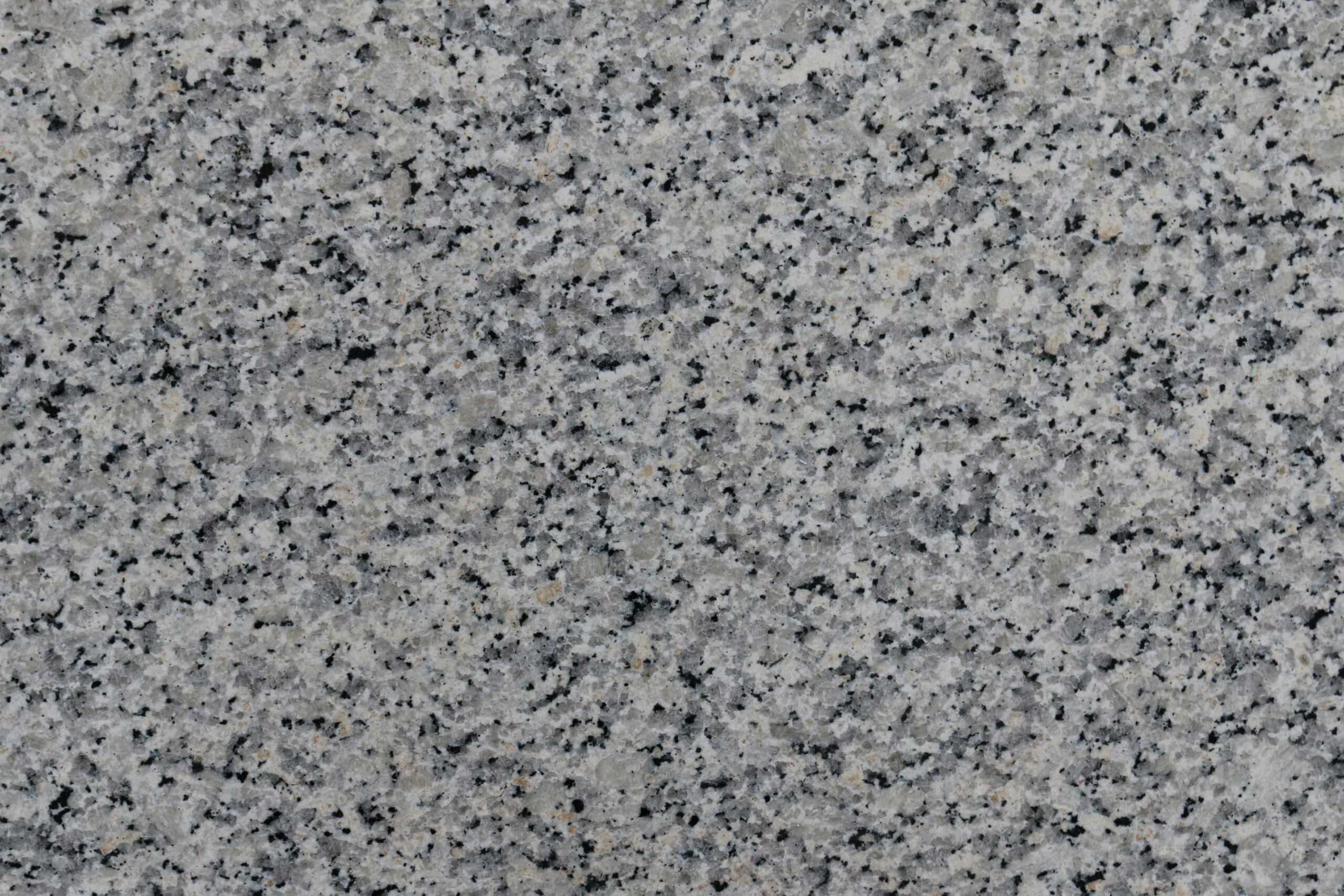 Grey Granite Stone Slab With Black Speckles