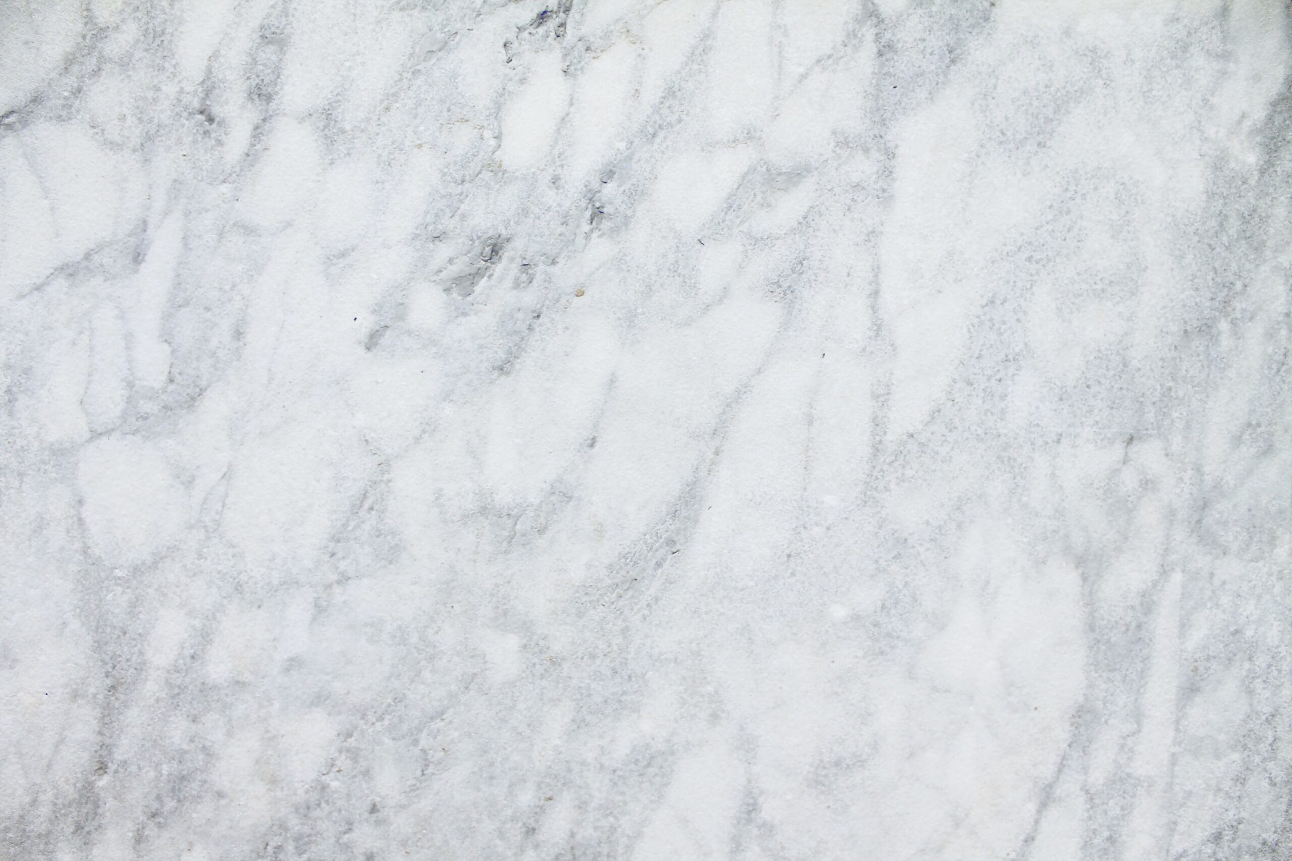 Natural White Marble Stone Slab With Grey Veins